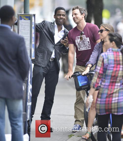 Chris Rock, Seth Meyers and Alexi Ashe 7