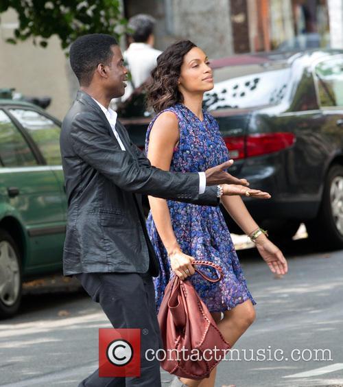 Chris Rock and Rosario Dawson 8