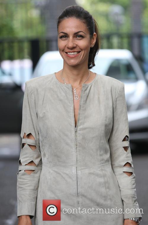 julia bradbury celebrities outside the itv studios 3775504