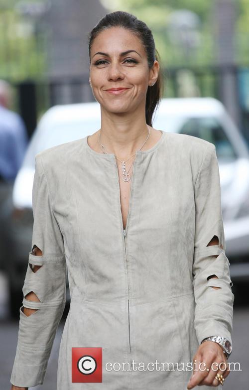 julia bradbury celebrities outside the itv studios 3775516