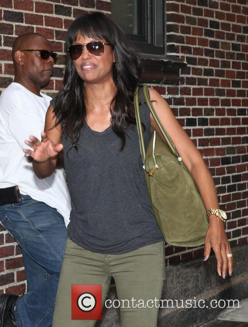 aisha tyler celebrities arrives for the late 3776599