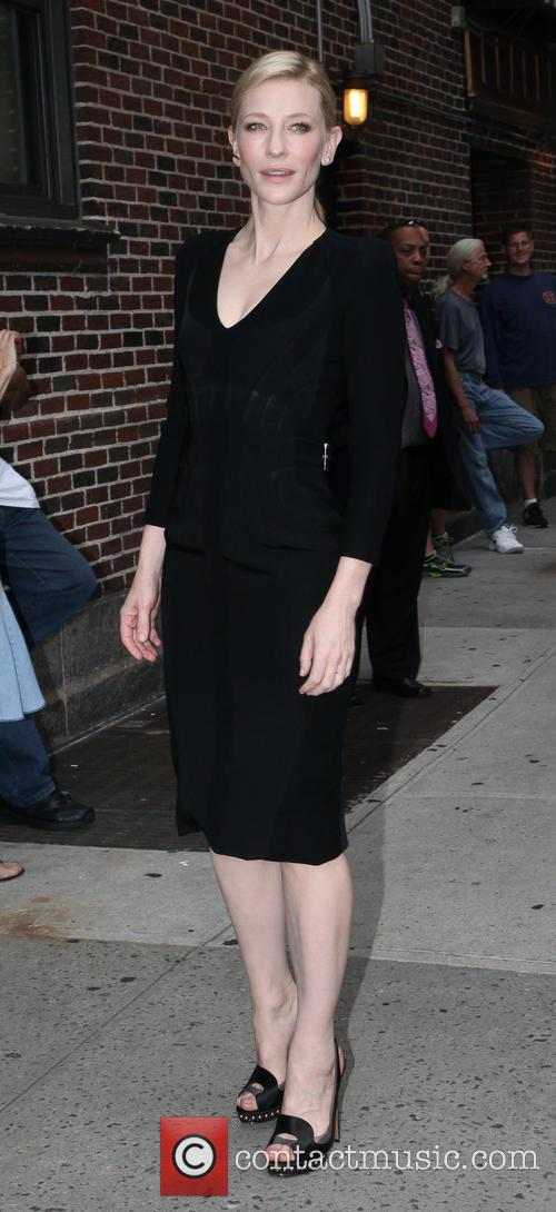 cate blanchett celebrities arrives for the late 3776604