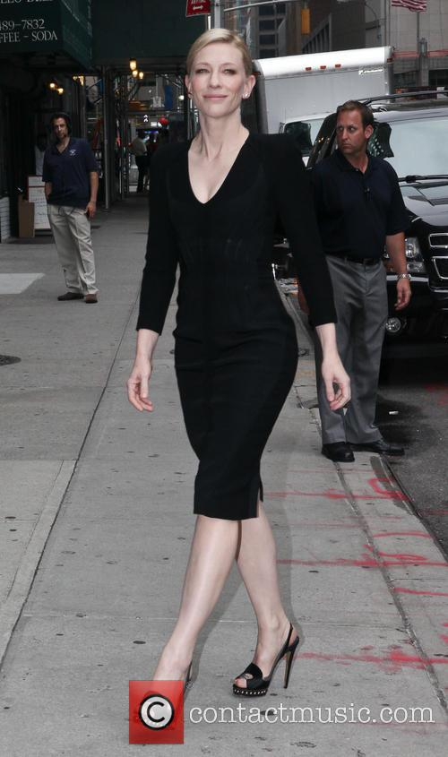 Cate Blanchett, Ed Sullivan Theater, The Late Show