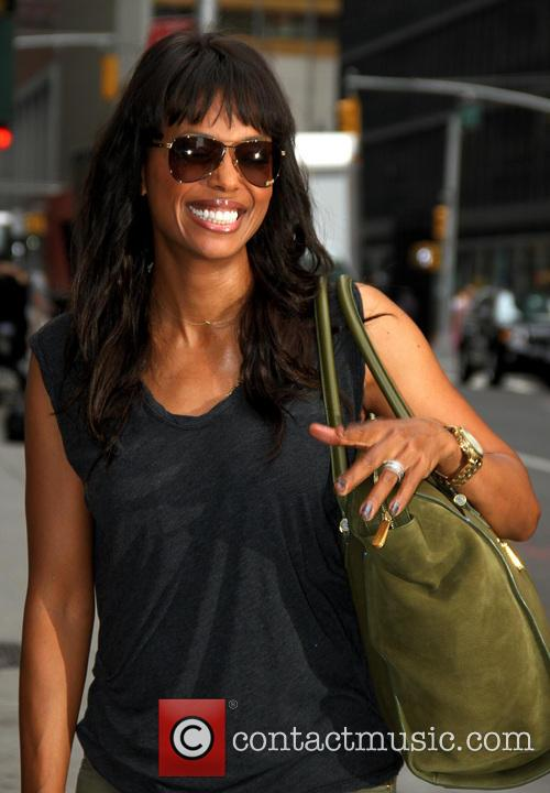 aisha tyler celebrities arrive for the late 3776654