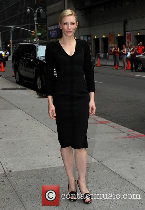 cate blanchett celebrities arrive for the late 3776641