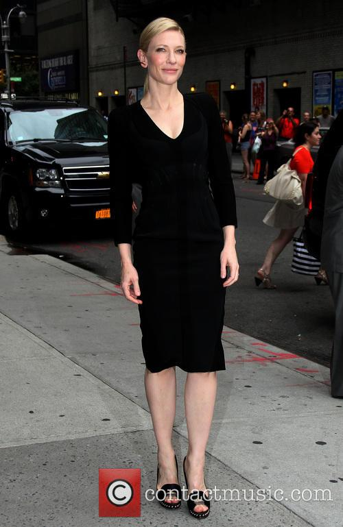 cate blanchett celebrities arrive for the late 3776645