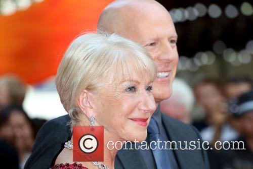 Dame Helen Mirren and Bruce Willis 2