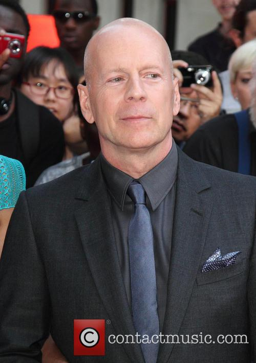 Bruce Willis, Odeon Leicester Square