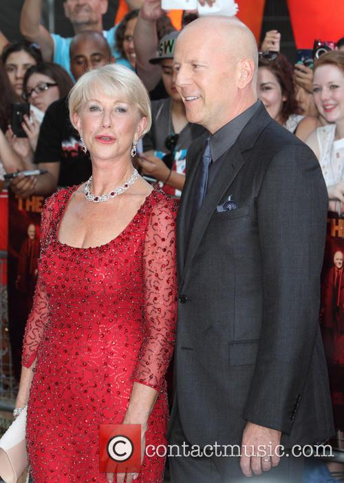 Dame Helen Mirren and Bruce Willis 2