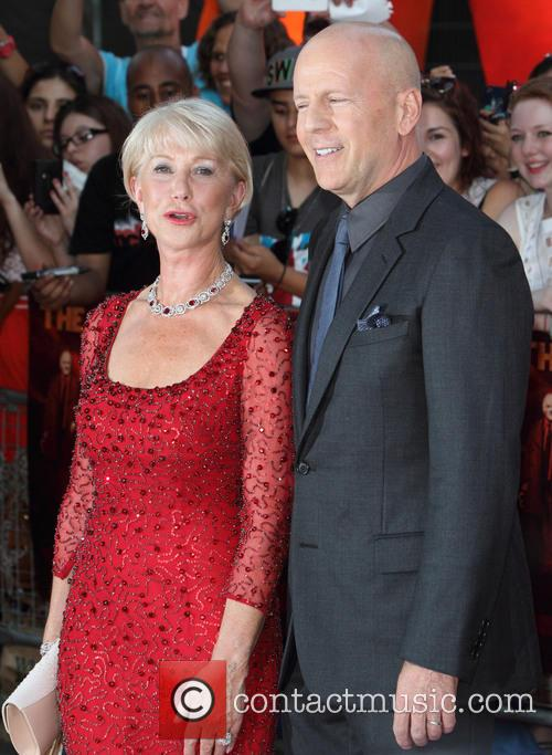 Dame Helen Mirren and Bruce Willis 1