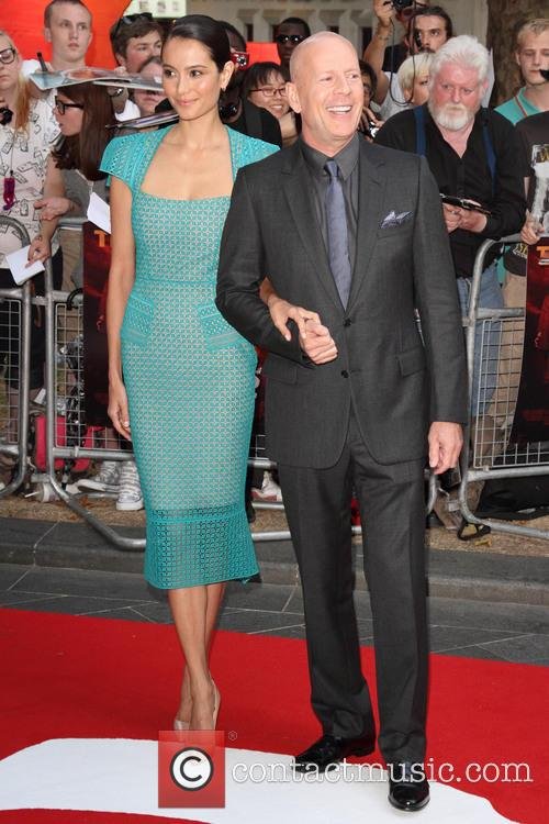 emma heming bruce willis european premiere of red 3776681