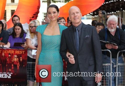 Bruce Willis, Wife and Emma Herring 3