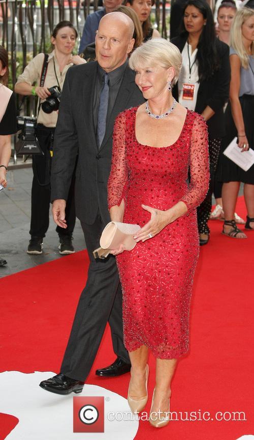 Dame Helen Mirren, Bruce Willis
