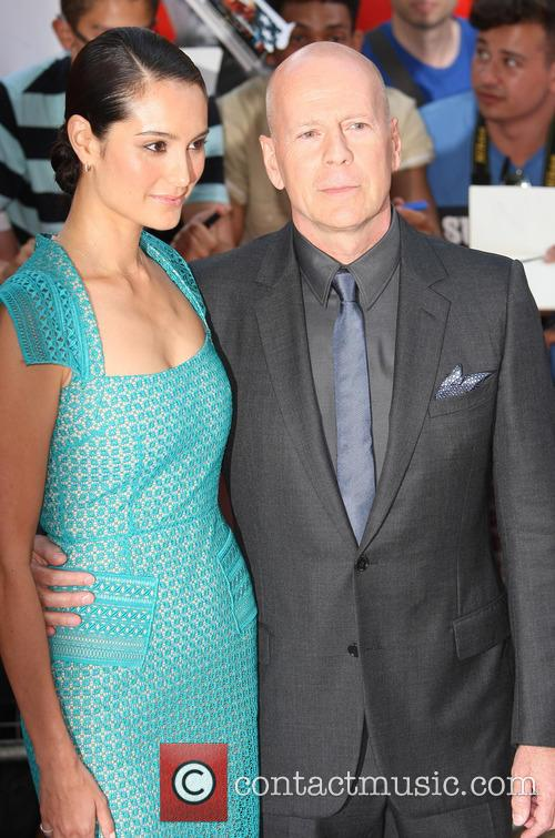 Emma Heming and Bruce Willis 2