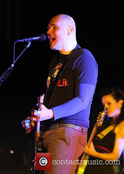 Smashing Pumpkins performing live