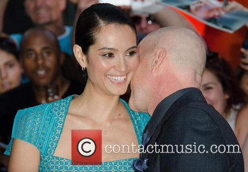 Emma Heming and Bruce Willis 1