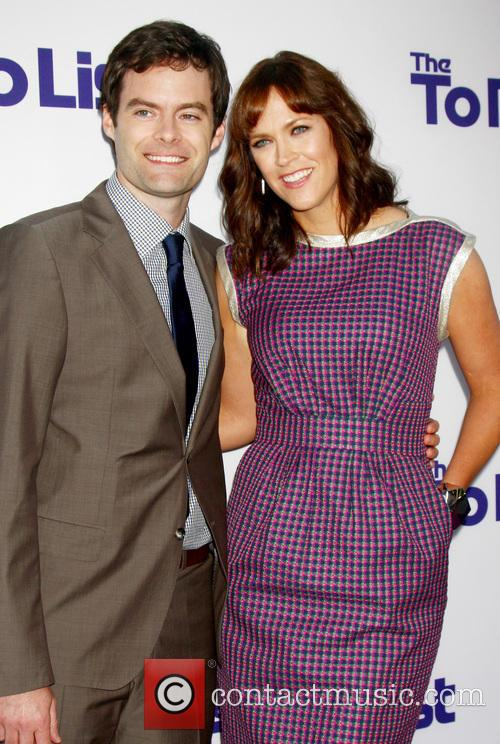 Bill Hader and Maggie Carey 3