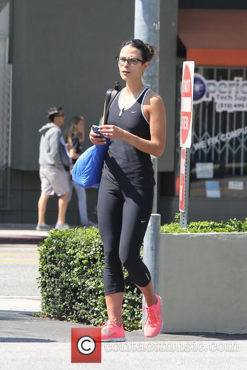 Jordana Brewster arrives at Earthbar in West Hollywood