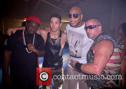 "T-pain, J Rand, Flo Rida and Dale ""rage"" Resteghini 10"