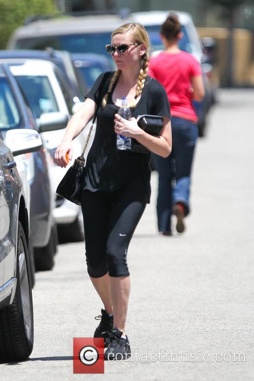 Kirsten Dunst is seen after a gym workout...