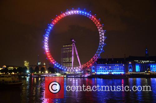 London Eye Royal Baby Illuminations