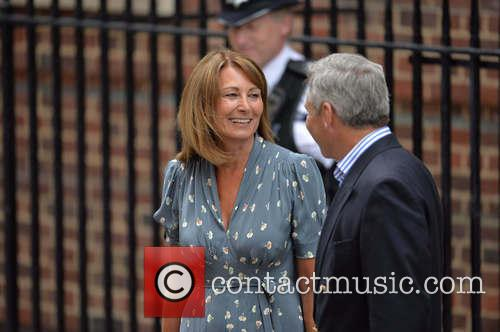 Prince Charles, Carole Middleton and Michael Middleton 10