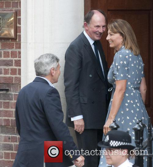 Guests arrive at The Lindo Wing at St...