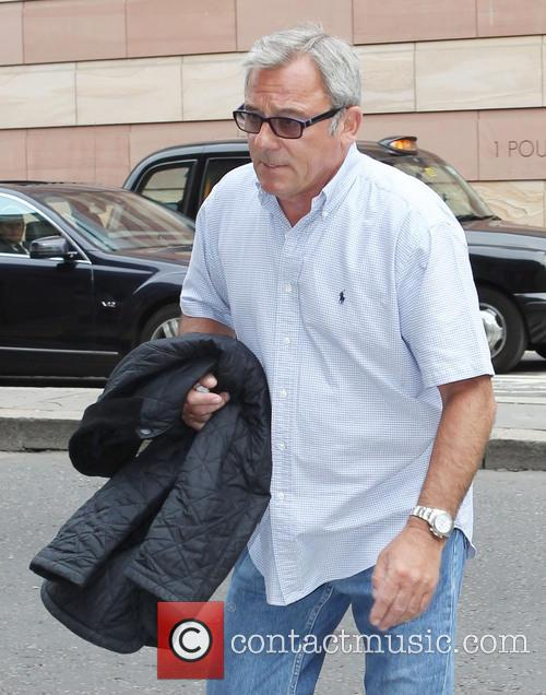 Ted Terry arrives at court