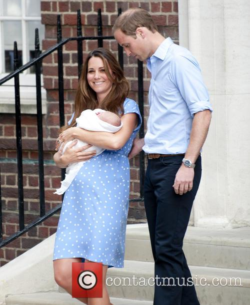 Prince William, Duke Of Cambridge, Catherine, Duchess Of Cambridge and Baby Cambridge 9