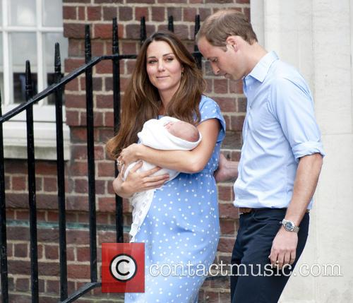 Prince William, Duke Of Cambridge, Catherine, Duchess Of Cambridge and Baby Cambridge 10