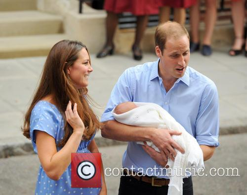 Prince William, Duke of Cambridge, Catherine, Duchess of Cambridge and Baby Cambridge 20