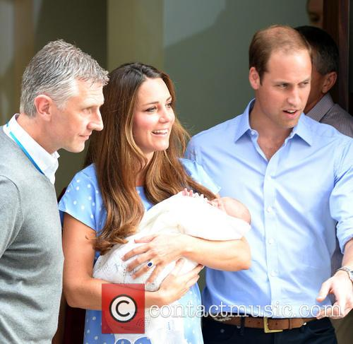 Prince William, Duke of Cambridge, Catherine, Duchess of Cambridge and Baby Cambridge 21