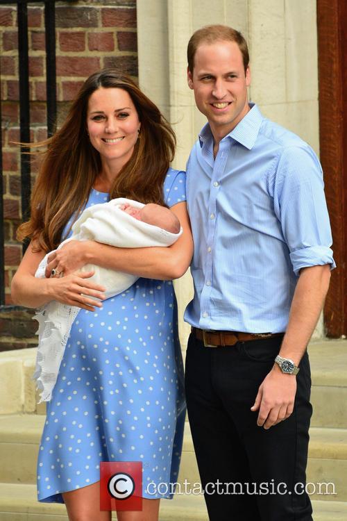 Prince William, Duchess of Cambridge, Duke of Cambridge, Newborn Where: London, United Kingdom and Kate Middleton 4