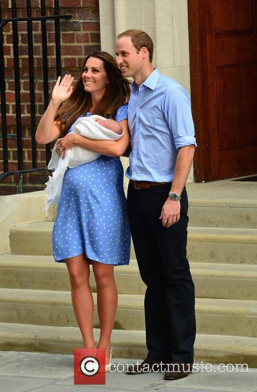 Prince William, Duchess of Cambridge, Duke of Cambridge, Newborn Where: London, United Kingdom and Kate Middleton 6