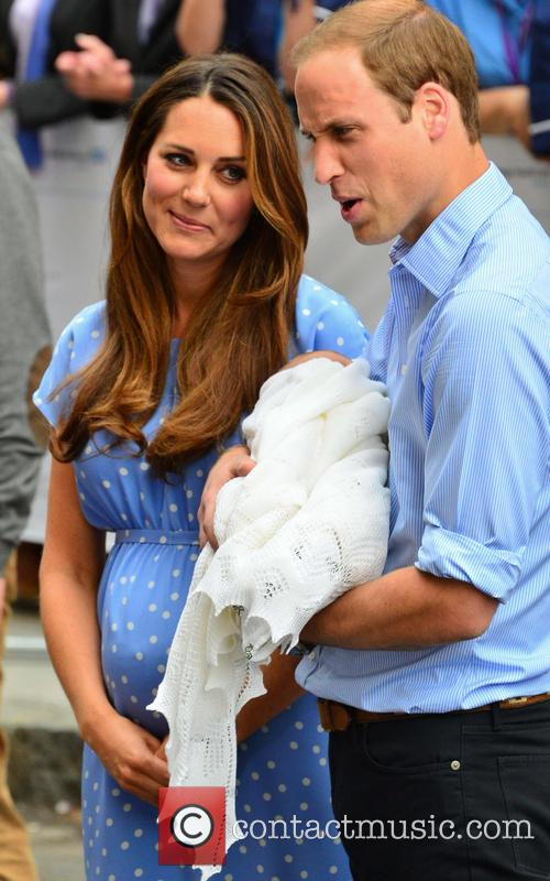 Prince William, Duchess of Cambridge, Duke of Cambridge, Newborn Where: London, United Kingdom, Kate Middleton