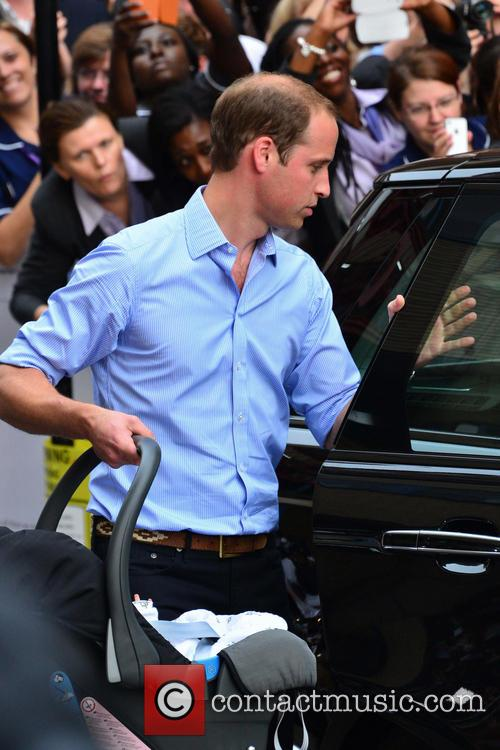 Prince William, Duchess of Cambridge, Duke of Cambridge, Newborn Where: London, United Kingdom and Kate Middleton 8