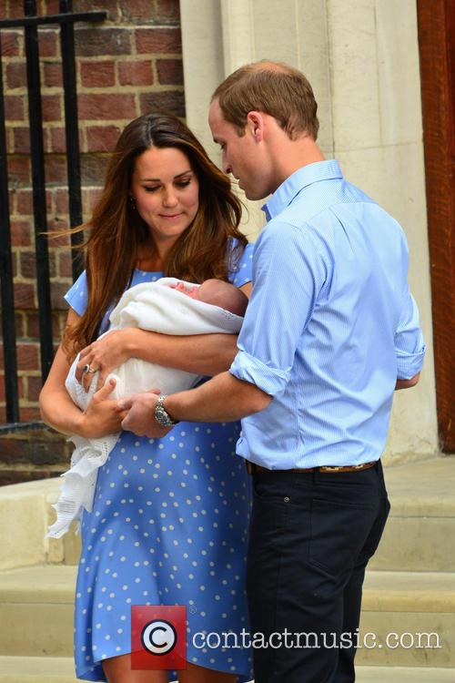 Prince William, Duchess of Cambridge, Duke of Cambridge, Newborn Where: London, United Kingdom and Kate Middleton 12