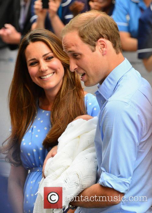 Prince William, Duchess of Cambridge, Duke of Cambridge, Newborn Where: London, United Kingdom and Kate Middleton 13