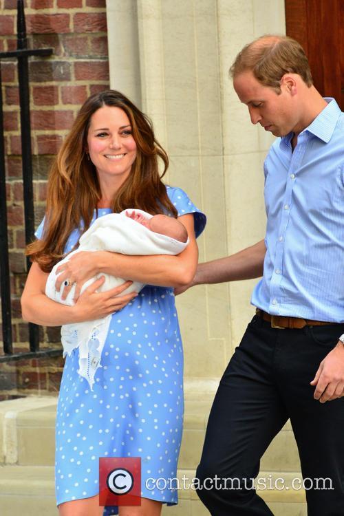 Prince William, Duchess of Cambridge, Duke of Cambridge, Newborn Where: London, United Kingdom and Kate Middleton 14