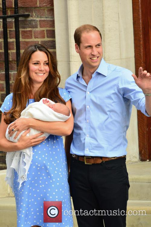 Prince William, Duke of Cambridge, Catherine, Duchess of Cambridge and Baby Cambridge 36