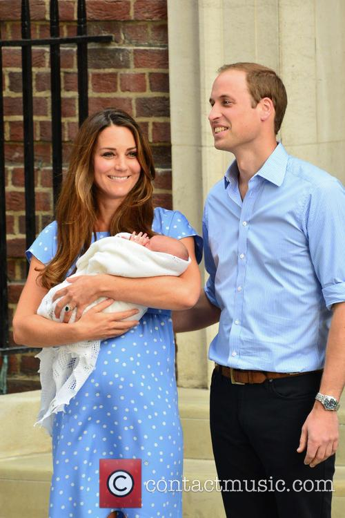 Prince William, Duke of Cambridge, Catherine, Duchess of Cambridge and Baby Cambridge 39