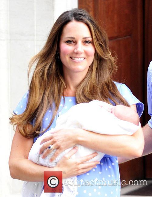 Catherine, Duchess Of Cambridge and Baby Cambridge 3