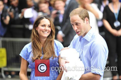 Prince William, Duke of Cambridge, Catherine, Duchess of Cambridge and Baby Cambridge 19