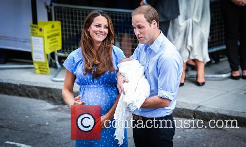 Prince William, Duke of Cambridge, Catherine, Duchess of Cambridge and Baby Cambridge 22