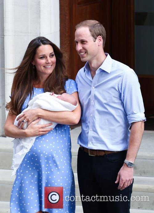 Prince William, Duke of Cambridge, Catherine, Duchess of Cambridge and Baby Cambridge 23