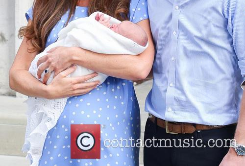 Prince William, Duke of Cambridge, Catherine, Duchess of Cambridge and Baby Cambridge 24