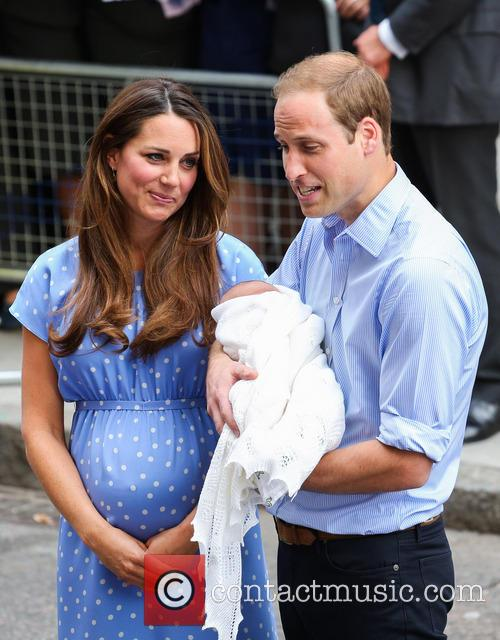 Prince William, Duke of Cambridge, Catherine, Duchess of Cambridge and Baby Cambridge 27