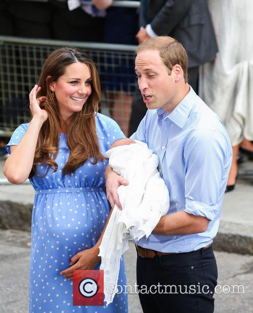 Prince William, Duke of Cambridge, Catherine, Duchess of Cambridge and Baby Cambridge 28
