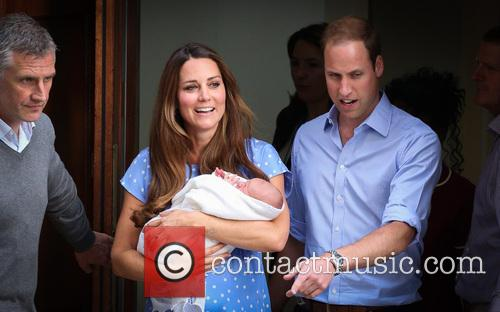 Prince William, Duke of Cambridge, Catherine, Duchess of Cambridge and Baby Cambridge 32