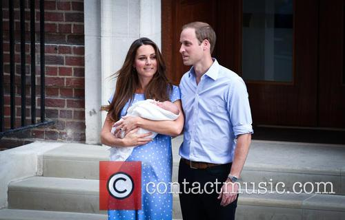 Prince William, Duke of Cambridge, Catherine, Duchess of Cambridge and Baby Cambridge 38